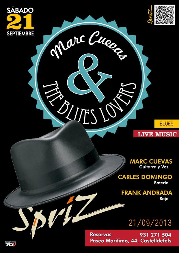 Marc Cuevas & The Blues Lovers