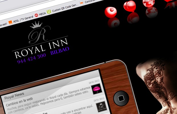 Royal Relax. El erotismo on-line