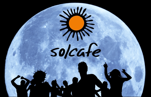 Solcafé. Full Moon White Party