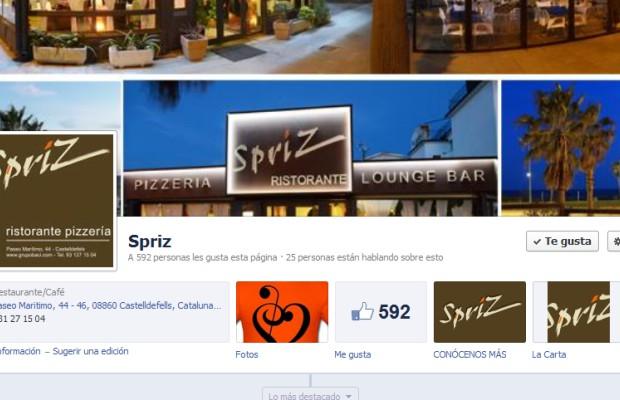 Spriz. Aprovechando Facebook