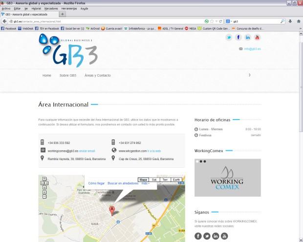 areas de GB3