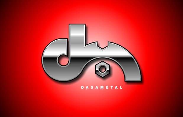 DasaMetal: Un logo brillante.
