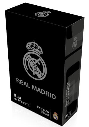 RM estamping sobre negro